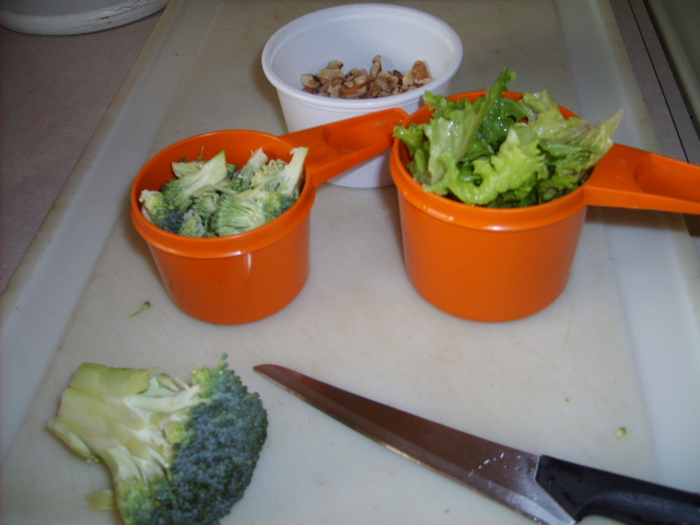 Vegetables Serviing Sizes