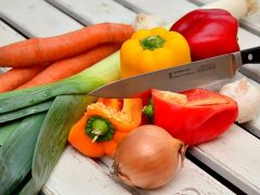 vegetables for the grill