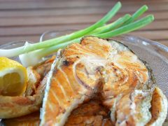 perfectly grilled fish