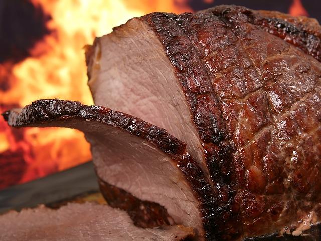 grilled roast